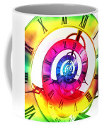 Infinite Time Rainbow 3 Coffee Mug