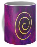 Infinity - Deep Purple With Gold Coffee Mug