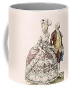 Informal Wedding Dress, Engraved Coffee Mug