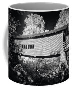 Infrared Covered Bridge Coffee Mug