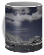 Infrared Over Browns Island Coffee Mug