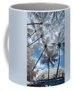 Infrared Palm Trees On The Coast Coffee Mug