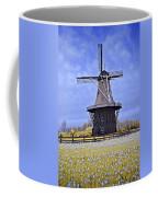 Infrared Photo Of The Dezwaan Dutch Windmill On Windmill Island In Holland Michigan Coffee Mug
