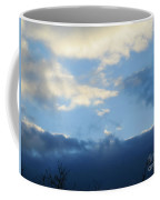 Inkblot Clouds 2 Coffee Mug