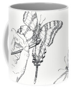 Inked Swallowtail Coffee Mug