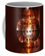 Inner Strength - Abstract Art Coffee Mug by Carol Groenen
