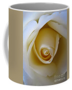 Innocence White Rose 5 Coffee Mug