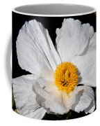 Innocent Krinkle - White Peony By Diana Sainz Coffee Mug