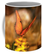 Insect - Butterfly - Just A Bit Of Orange  Coffee Mug