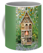 Insect Hotel Coffee Mug by Olivier Le Queinec