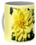 Insect On A Dahlia Coffee Mug