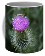 Insect On A Thistle Coffee Mug
