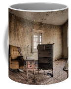 Inside Abandoned House Photos - Old Room - Life Long Gone Coffee Mug