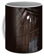 Inside An Old Barn Coffee Mug