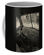 Inside An Old Junker Car Coffee Mug