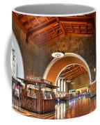 Inside Los Angeles Union Station Coffee Mug