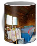 Inside Savage River Cabin In Denali Np-ak   Coffee Mug