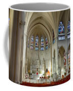 Inside The Cathedral Basilica Of The Immaculate Conception 1 Coffee Mug