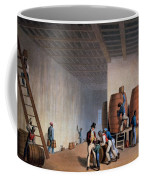 Inside The Distillery, From Ten Views Coffee Mug