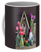 Inside The Garden Shed Coffee Mug by Edward Fielding