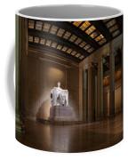 Inside The Lincoln Memorial Coffee Mug