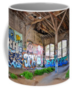 Inside The Old Train Roundhouse At Bayshore Near San Francisco And The Cow Palace II Coffee Mug