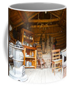 Inside The Real Sam Mcgee's Cabin In Macbride Museum In Whitehorse-yk Coffee Mug