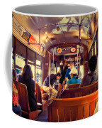 Inside The St. Charles Ave Streetcar New Orleans Coffee Mug