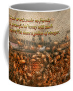 Inspiration - Apiary - Bee's - Sweet Success - Ben Franklin Coffee Mug by Mike Savad