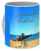 Inspirational Beach - Stop And Smell The Salt Air Coffee Mug