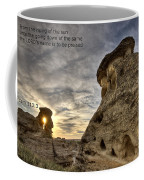 Inspirational Hoodoo Badlands Alberta Canada Coffee Mug