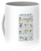 Instructions For Getting Into The Ocean Coffee Mug by Roz Chast