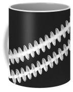 Insulators In Black And White Coffee Mug