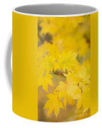 Intensely Yellow Coffee Mug by Anne Gilbert
