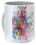 Interchange Between Ambition And Restraint 2 Coffee Mug by David Baruch Wolk