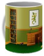 Interior Design Idea - Little Lizard - Animal Art Coffee Mug