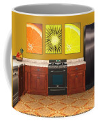 Interior Design Idea - Sweet Orange - Kiwi - Lemon Coffee Mug