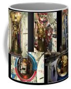 Interior Hatches Collage Russian Submarine Coffee Mug