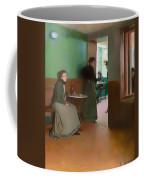 Interior Of A Cafe Coffee Mug