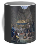 Interior Of A Kalmuk Yurt, 1812-13 Coffee Mug