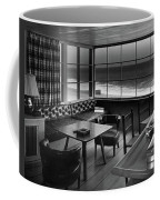 Interior Of Beach House Owned By Anatole Litvak Coffee Mug