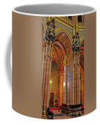 Interior Of Hungarian Parliament Coffee Mug