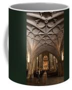 Interior Of Jeronimos Monastery Church In Lisbon Coffee Mug