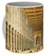 Interior Of San Paolo Fuori Le Mura Coffee Mug