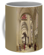 Interior Of The Cathedral Of St. Etienne, Sens Coffee Mug