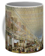 Interior Of The Great Exhibition Of All Coffee Mug by Edmund Walker