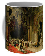 Interior Of The Mosque At Cordoba Coffee Mug by Edwin Lord Weeks