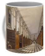 Interior Of Trinity College Library Coffee Mug