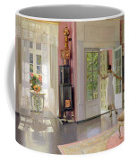 Interior Oil On Canvas Coffee Mug