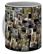 Interior Russian Submarine Horz Collage Coffee Mug
